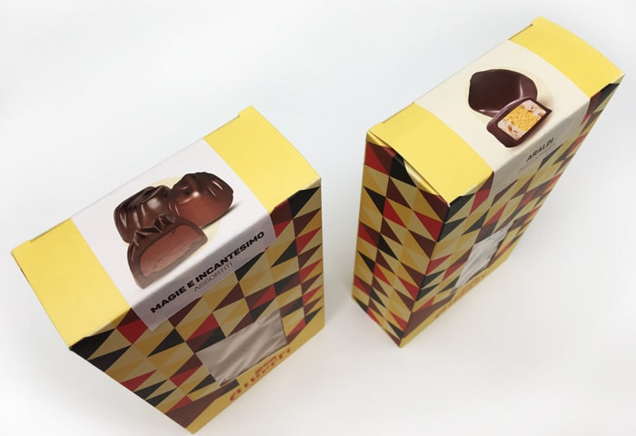 chocolate box strega Alberti Pringraf