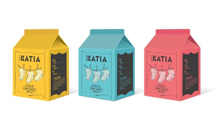 Sock packaging for Katia socks