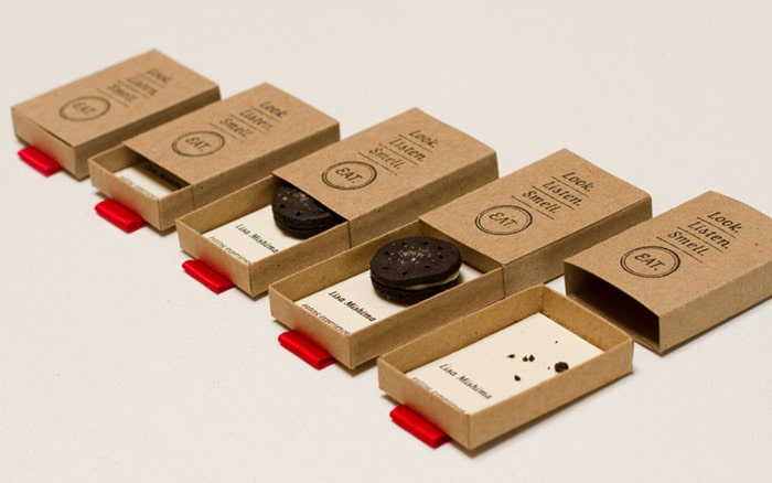 cookies maker business card