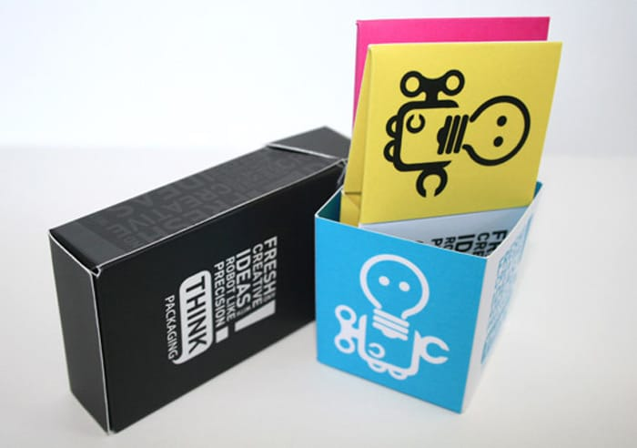 Business card boxes for a first good impression packly blog news reheart Choice Image