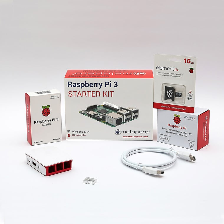 fascette personalizzate Raspberry Pi Melopero