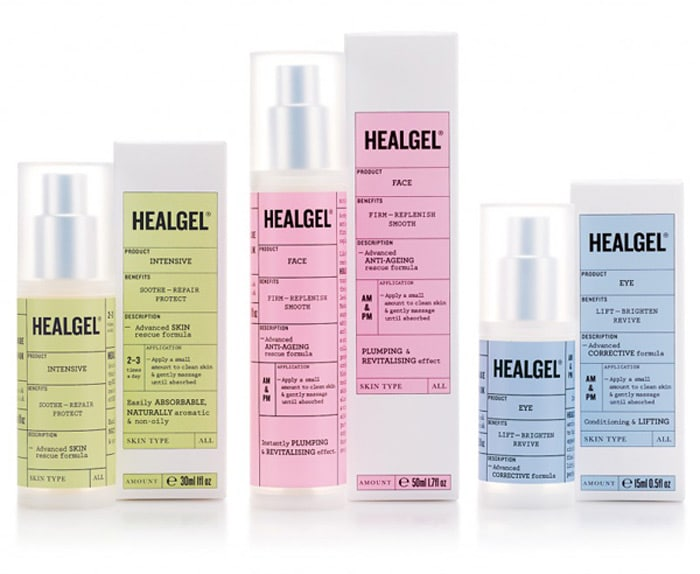 helagel-cosmetic packaging