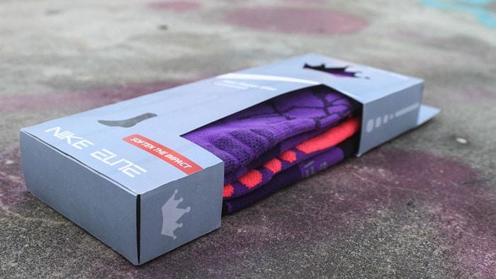 Sock packaging by Nike