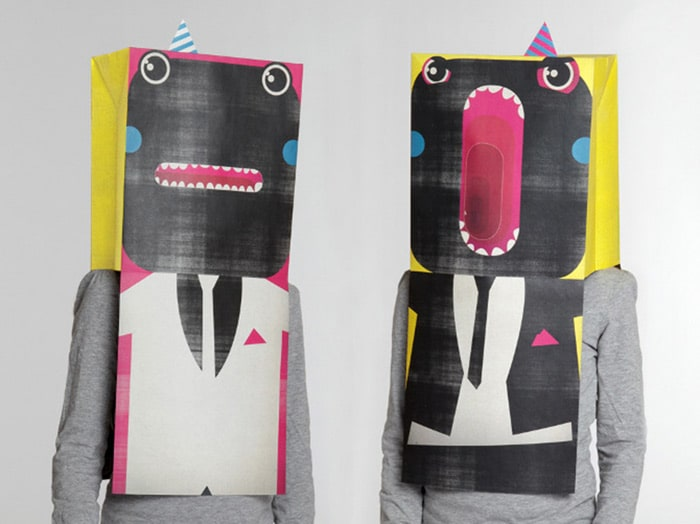 Boxes for socks that turn into masks