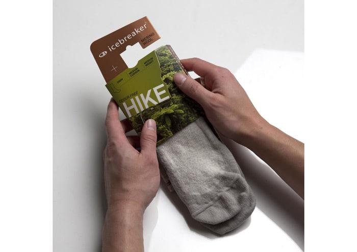 Hiking socks example
