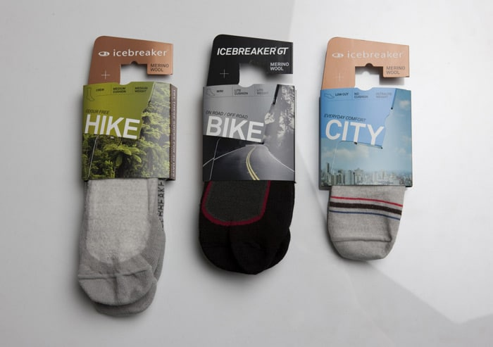 Sports sock packaging