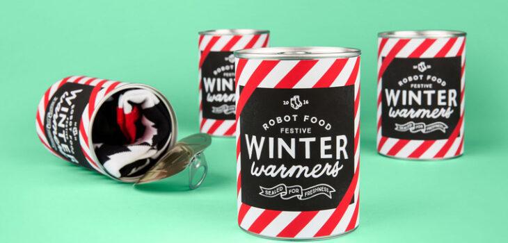 scatole di calzini robotfood