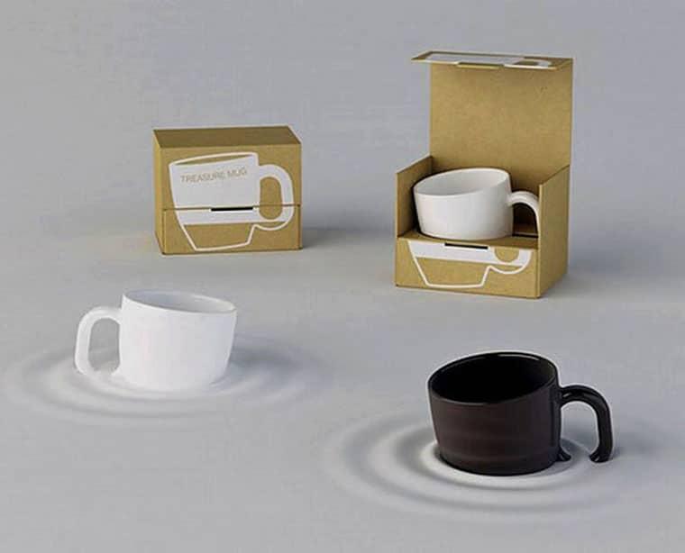 Scatole per tazze design