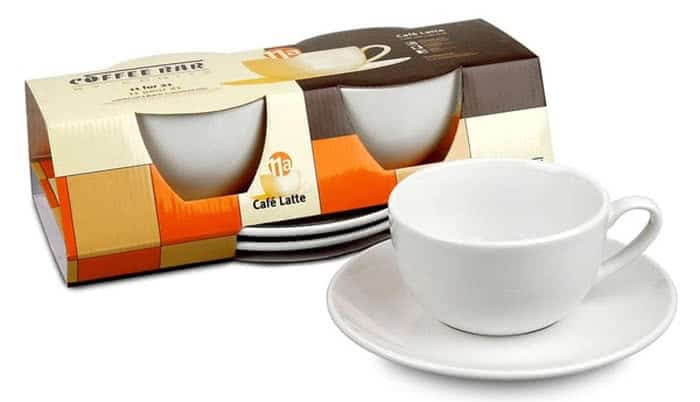 sleeve packaging for coffee cups