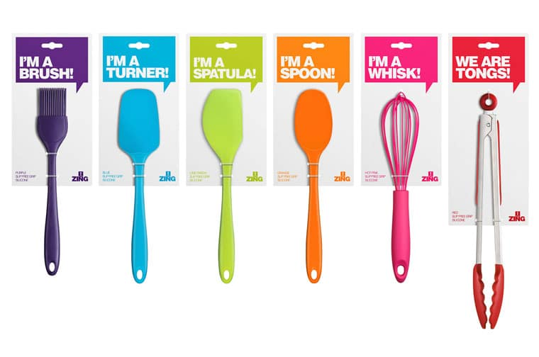 utensils and cutlery boxes packaging design