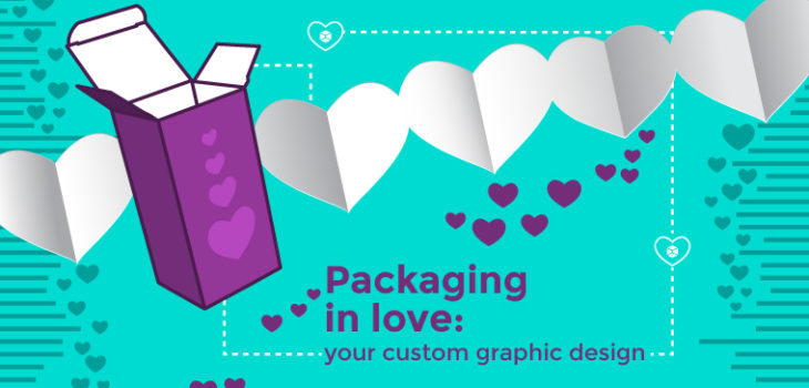 valentine's day custom graphic design