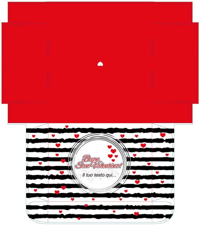 valigetta San Valentino graphic design
