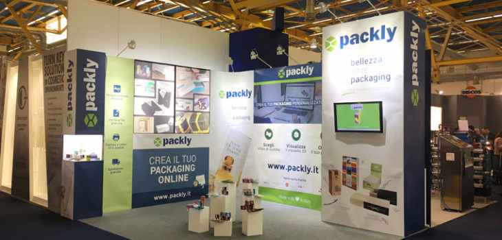 Cosmopack 2017 Packly packaging