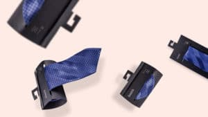 Fashion packaging: neckties, papillon and suspenders for a perfect vintage style!