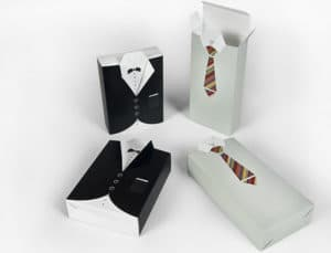 Very elegant Father's Day custom packaging for a special gift!