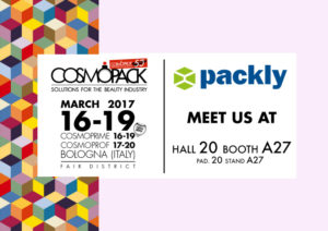 Cosmopack 2017: Packly dives into the Health & Beauty world, come visit us!