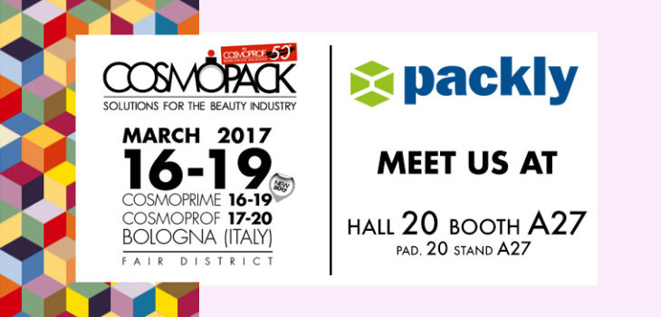 Packly Cosmopack 2017 Bologna