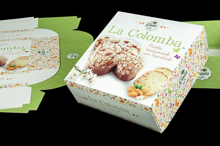 Packly custom easter dove cakes packaging