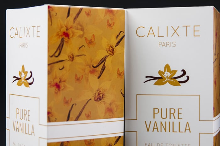 perfume box graphic Packly contest