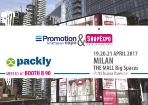 Packly brings its innovative proposal to Promotion Expo 2017 of Milano