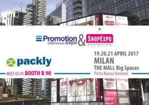 Packly porta la sua proposta innovativa alla Promotion Expo 2017 di Milano