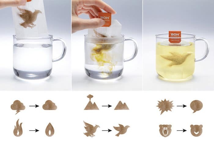 creative ideas for tea bags