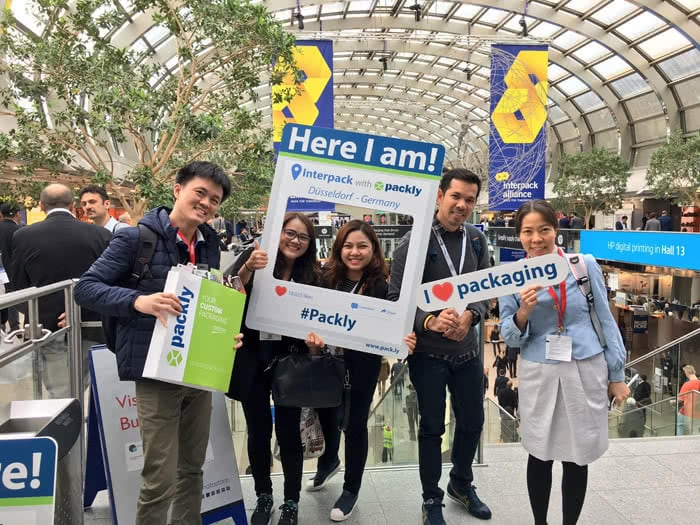 Packly photo booth Interpack