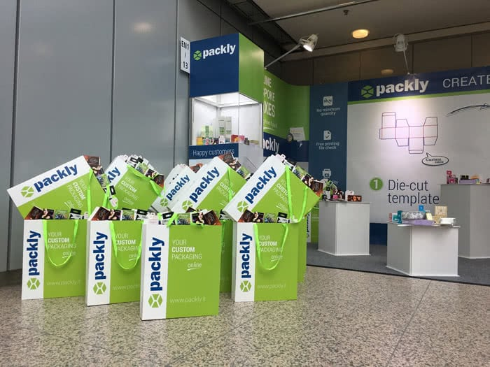 Shopping bags Packly duesseldorf #interpack17
