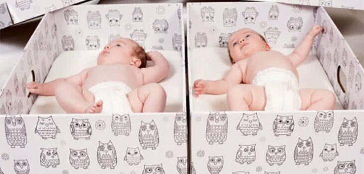 baby box Packly äitiyspakkaus