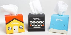16 confezioni di fazzoletti che ti strapperanno di certo un sorriso!