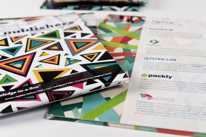multicompany digital packaging design project