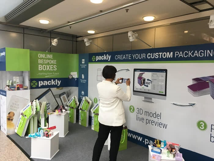 packaging personalizzato online Packly