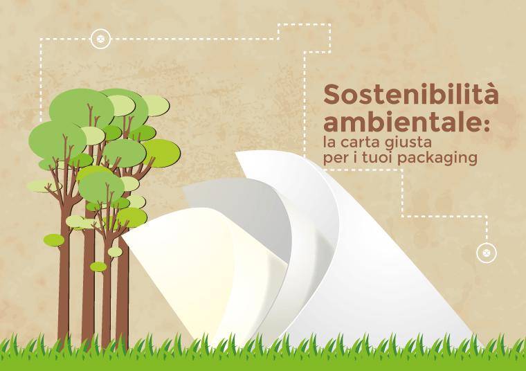 sostenibilità ambientale carta packaging design