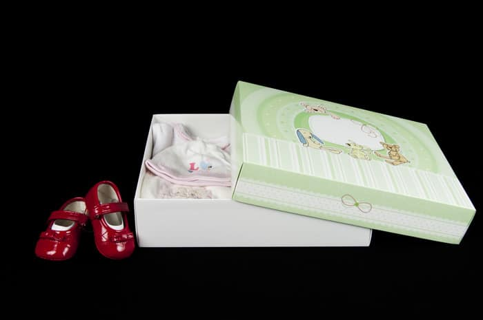 custom baby box Packly