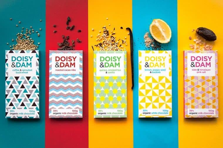 doisy&dam packaging per cioccolato