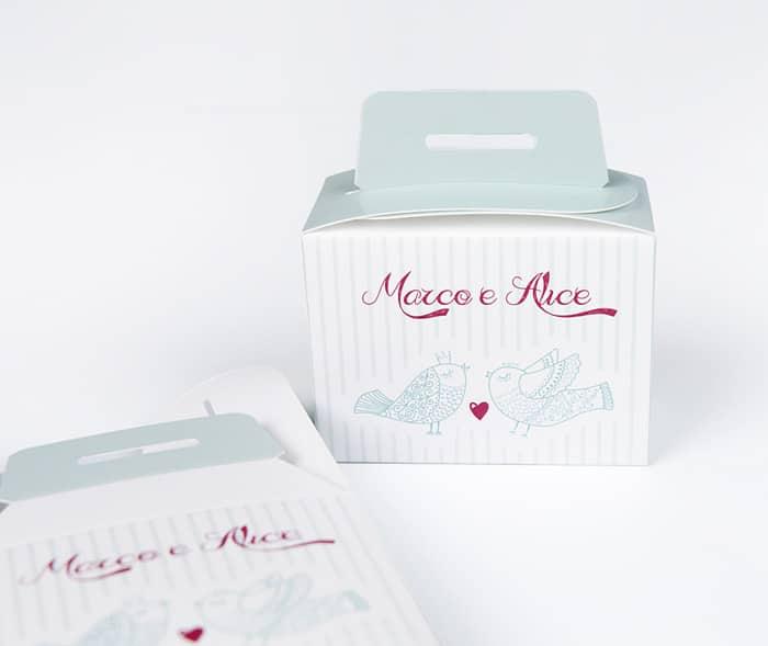 custom wedding box Packly