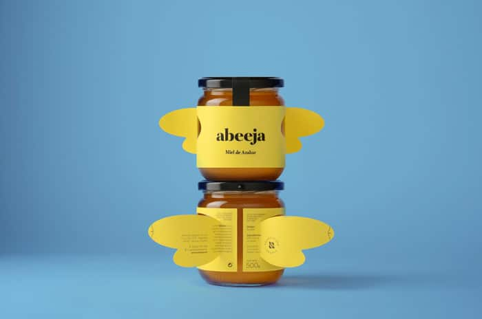 honey jar creative packaging