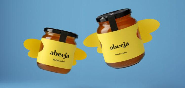 packaging creativi per miele etichette