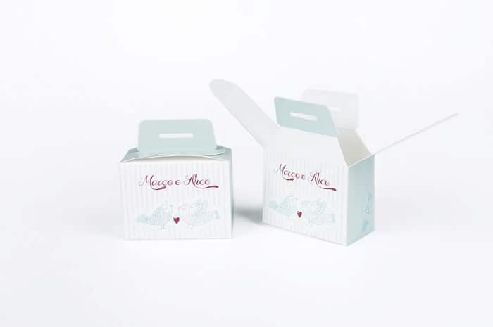 packaging matrimonio personalizzato