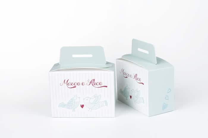 scatole per matrimonio personalizzate