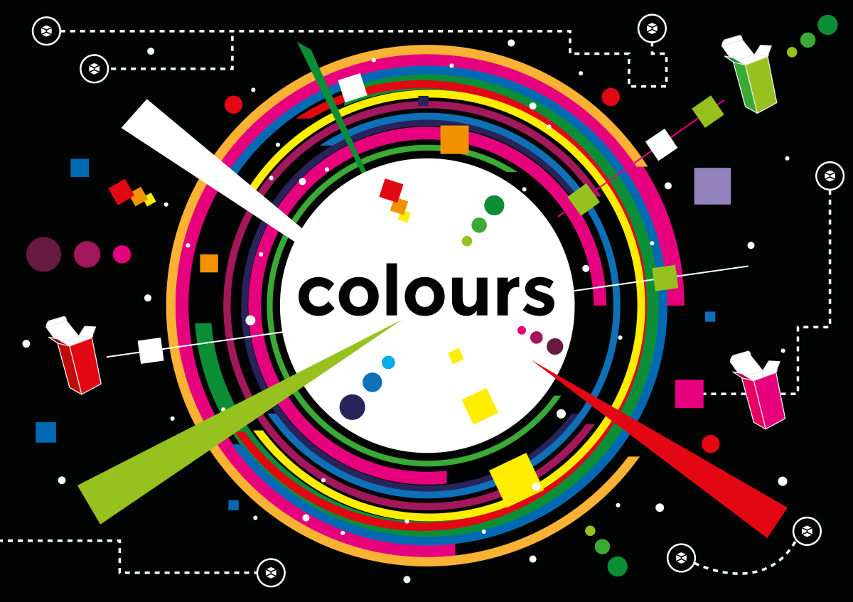 theory of colours graphic design