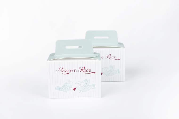 Wedding box personalizzate scatoel portaconfetti
