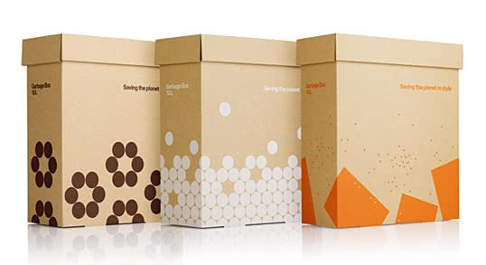 Minimal packaging: 20 beautiful boxes with essential design