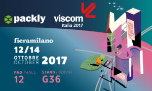 Packly at Viscom 2017: we are coming back with great news!