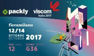 Packly a Viscom Italia 2017: un ritorno ricco di novità!