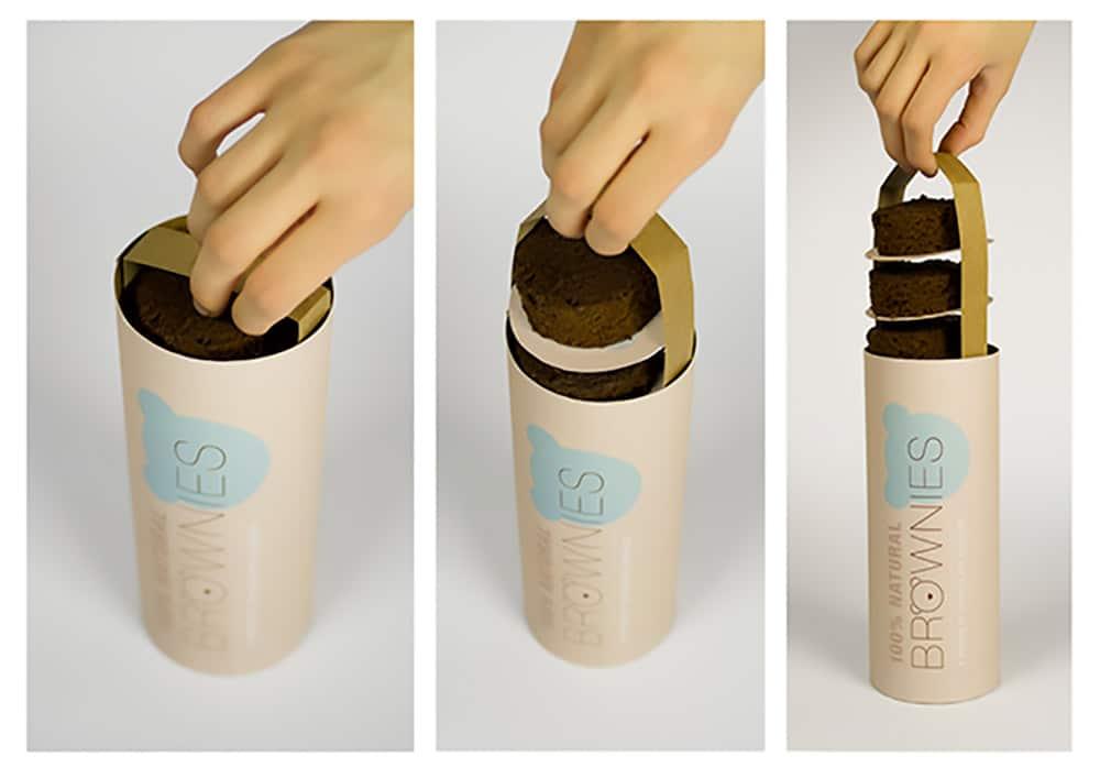 brownies functional packagings