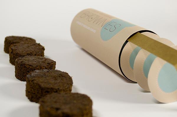 packaging funzionali brownies