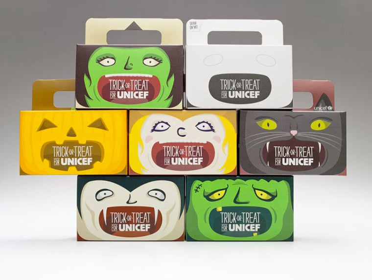 unicef-packaging stagionali-marketing-halloween-scatole