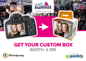 Packly and Printmo together for you at Web Summit 2017!