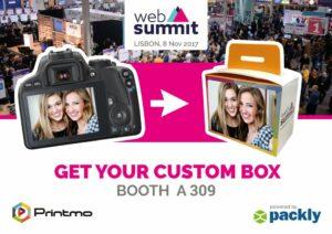 Packly e Printmo insieme per te al Web Summit 2017!